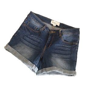 VERO MODA Mid-Rise Denim Jean Shorts for Summer